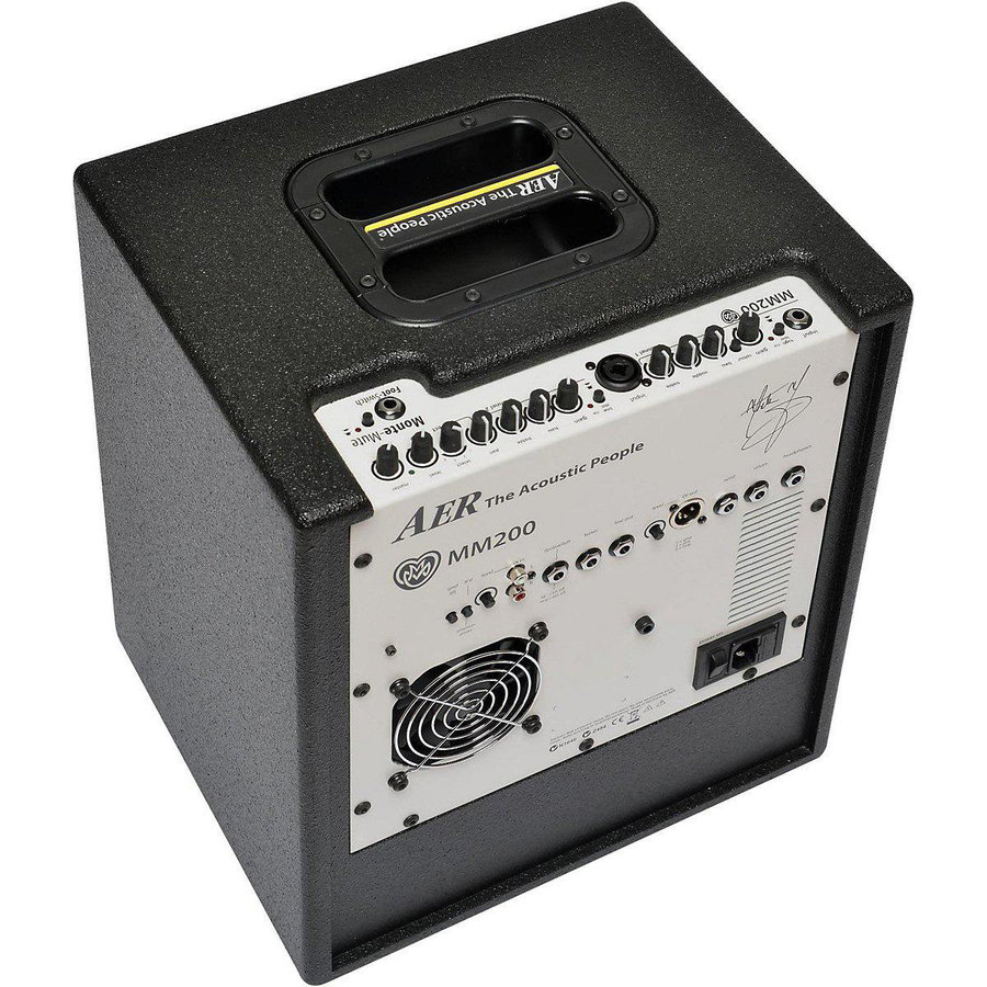 View larger image of AER MM200 Monte Montgomery Signature Guitar Amp