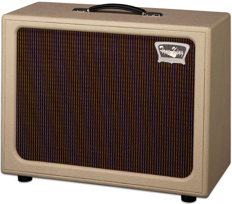 View larger image of Tone King Imperial 112 Cab Guitar Speaker Cabinet - Cream