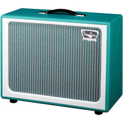 Tone King Imperial 112 Cab Guitar Speaker Cabinet - Turquoise