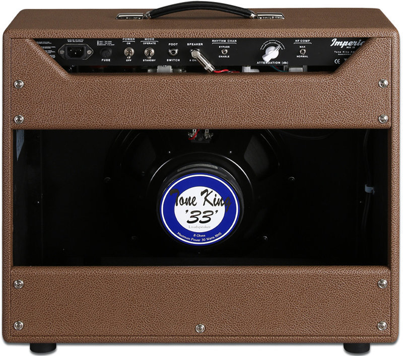 View larger image of Tone King Imperial MKII Guitar Combo Amp - Brown/Beige