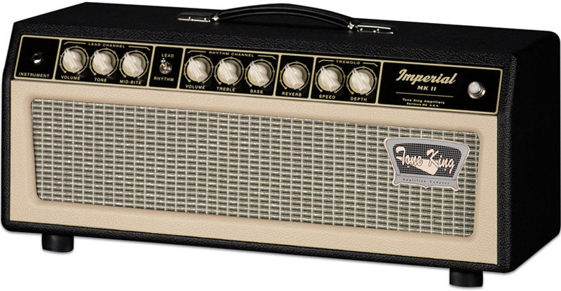 View larger image of Tone King Imperial MKII Guitar Amp Head - Black