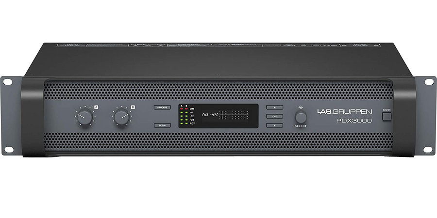 View larger image of Lab Gruppen PDX3000 2-Channel Amp with DSP Control