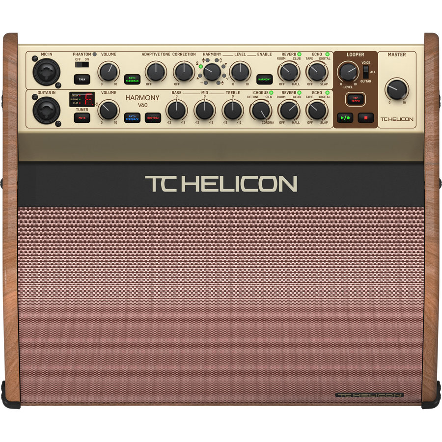 View larger image of  TC Helicon Harmony V60 2-Channel Acoustic Combo Amp