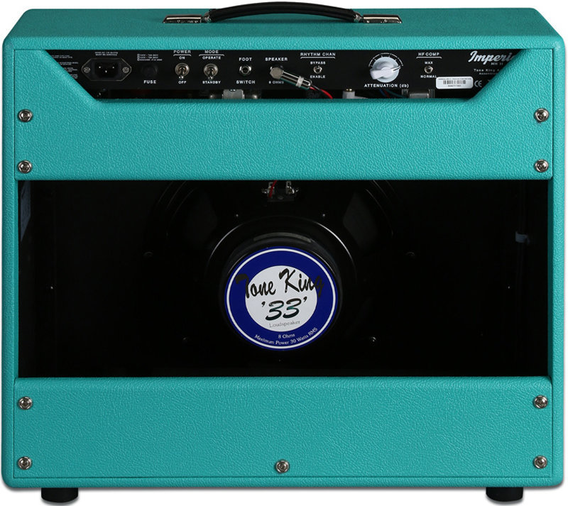 View larger image of Tone King Imperial MKII Guitar Combo Amp - Turquoise