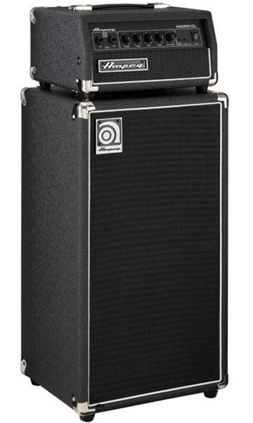 View larger image of Ampeg Micro CL 100W 2 x 10 Bass Amp Stack