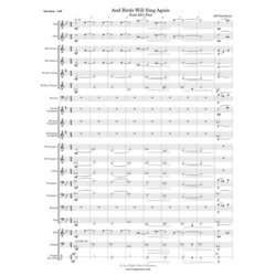 And Birds Will Sing Again - Score & Parts, Grade 2