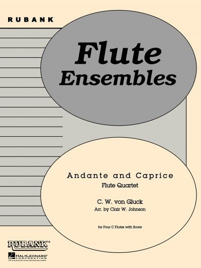 View larger image of Andante and Caprice - Flute Quartet
