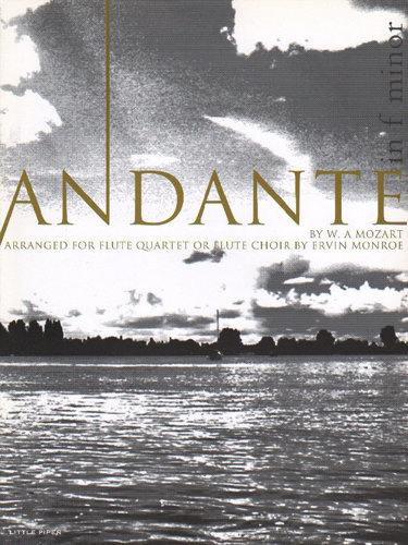 View larger image of Andante in F minor, (Mozart) - Flute Quartet or Flute Choir