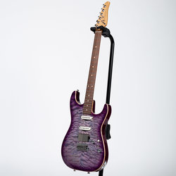 Anderson Drop Top Electric Guitar - Abalone to T-Purple Burst