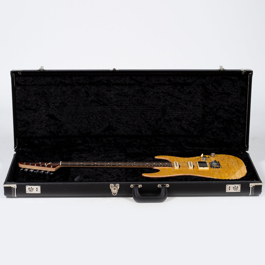 View larger image of Anderson Drop Top Electric Guitar - Natural Yellow Sun