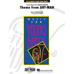 Ant Man (Theme)  - Score & Parts, Grade 3
