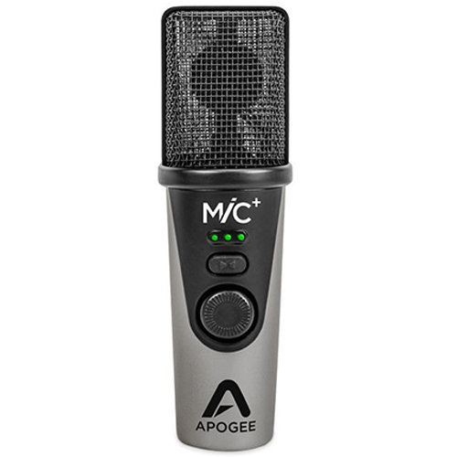 View larger image of Apogee Mic Plus Portable Condenser Microphone