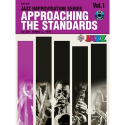 Approaching the Standards, Volume 1 - Bass Clef Instruments w/CD