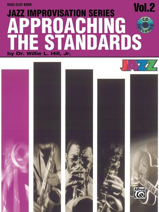 View larger image of Approaching the Standards, Volume 2 - Bass Clef Instruments w/CD