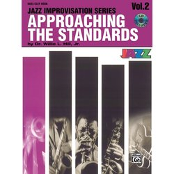 Approaching the Standards, Volume 2 - Bass Clef Instruments w/CD