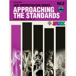 Approaching the Standards, Volume 3 - Bass Clef Instruments w/CD
