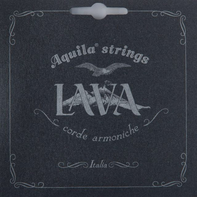View larger image of Aquila Black Lava Ukulele Strings - Concert Set Low G