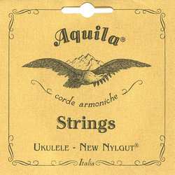 Aquila Nylgut Soprano Ukulele Strings - Low G