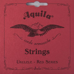 Aquila Red Series Soprano Ukulele/Timeless Banjo Strings - High G