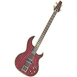 Aria Electric Bass Pin