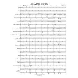 Aria for Winds - Score & Parts, Grade 2