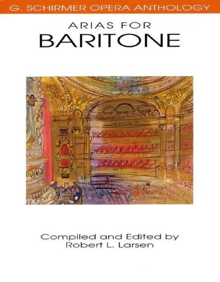 View larger image of Arias for Baritone - Voice/Piano