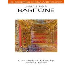 Arias for Baritone - Voice/Piano
