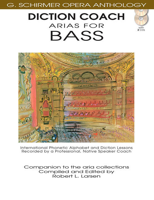 View larger image of Arias for Bass - Diction Coach w/CD