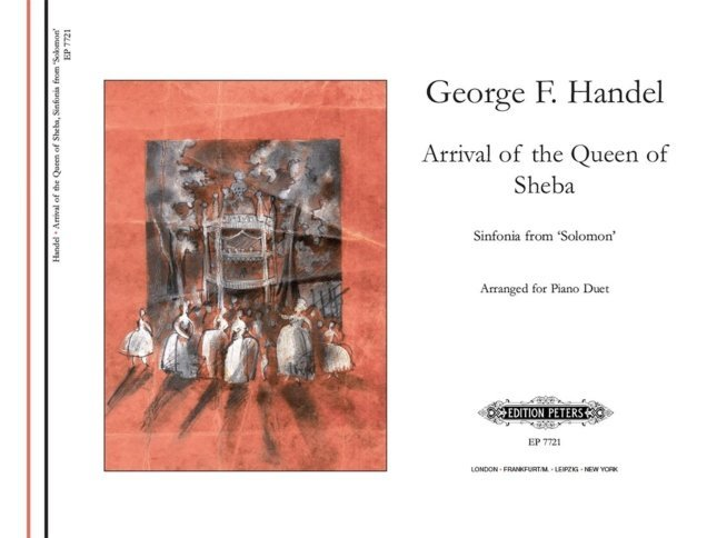 View larger image of Arrival of the Queen of Sheba (Handel) - Piano Duet (1P4H)