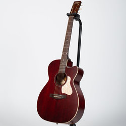 Art & Lutherie Legacy Concert Hall Cutaway Acoustic-Electric Guitar - Tennessee Red
