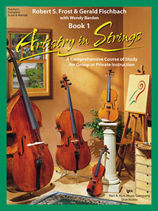 View larger image of Artistry in Strings Book 1 - Score
