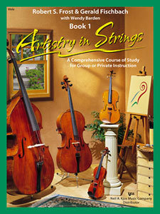 View larger image of Artistry in Strings Book 1 - Viola