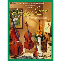 Artistry in Strings Book 1 with 2 CD - Double Bass-Middle Position