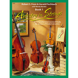 Artistry in Strings Book 1 with CD - Cello