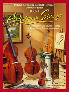 View larger image of Artistry in Strings Book 2 with 2 CD - Double Bass