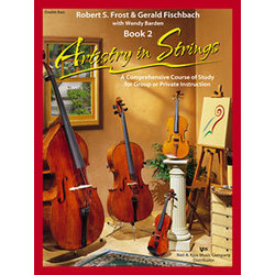 Artistry in Strings Book 2 with 2 CD - Double Bass