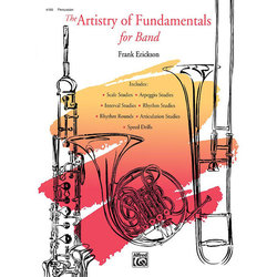 Artistry of Fundamentals For Band - Percussion