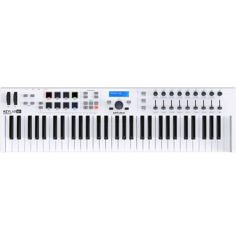 View larger image of Arturia KeyLab Essential 61 Keyboard Controller