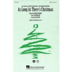As Long As There's Christmas, SATB Parts