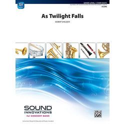 As Twilight Falls - Score & Parts, Grade 1