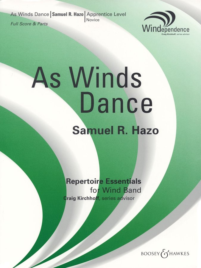 View larger image of As Winds Dance - Score & Parts, Grade 1.5