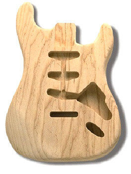 View larger image of Ash Replacement Body for Stratocaster