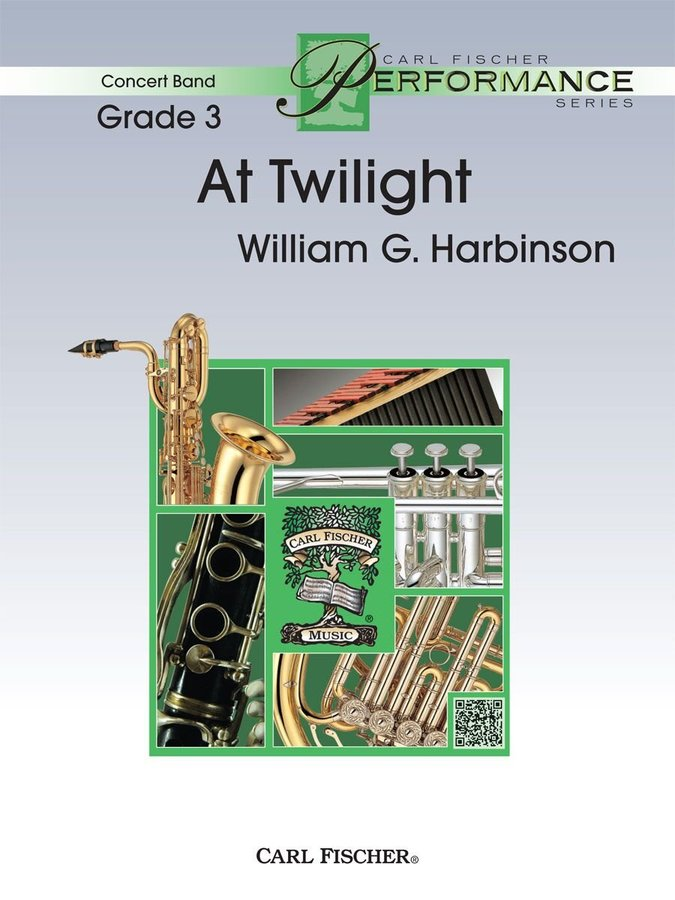 View larger image of At Twilight - Score & Parts, Grade 3