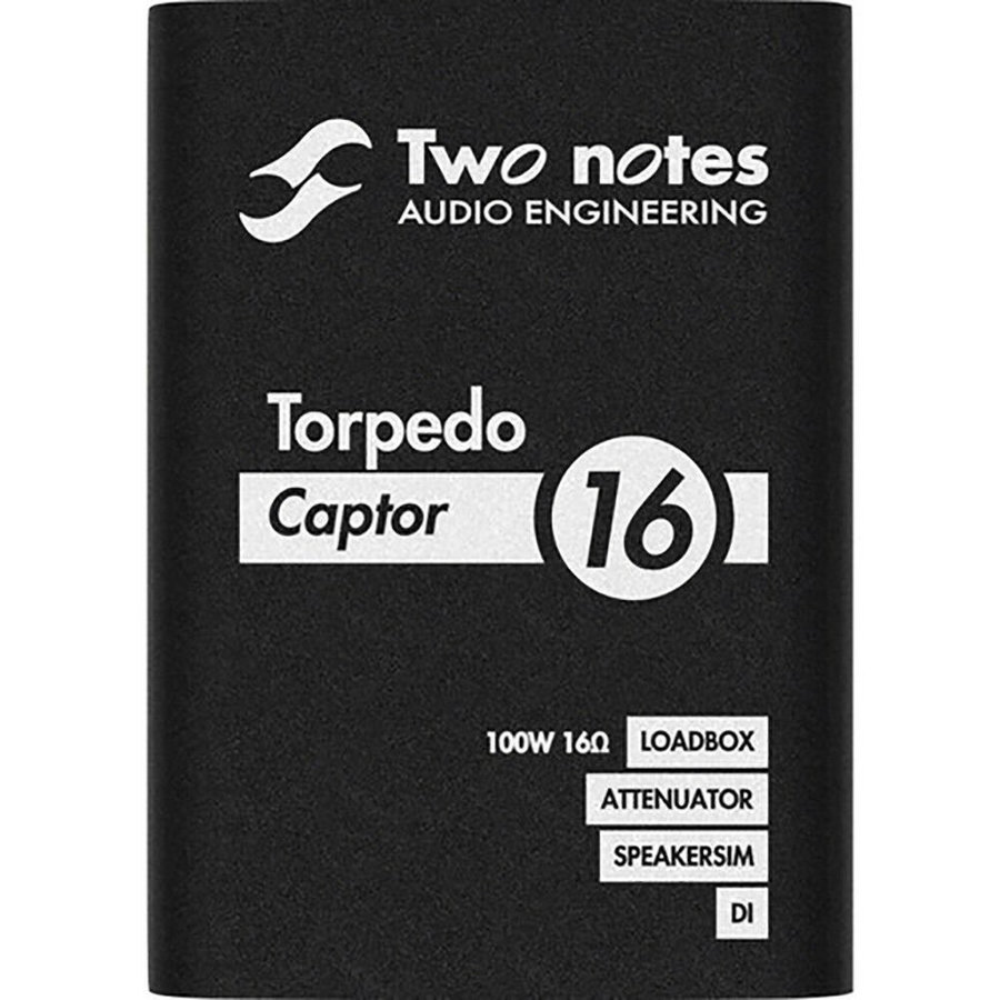 View larger image of Two Notes Torpedo Captor Reactive Loadbox DI/Attenuator - 16 Ohm