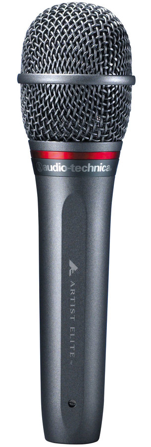 View larger image of Audio-Technica AE6100 Hypercardioid Dynamic Handheld Microphone