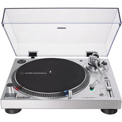 Audio-Technica AT-LP120XUSB Direct Drive Turntable - Silver