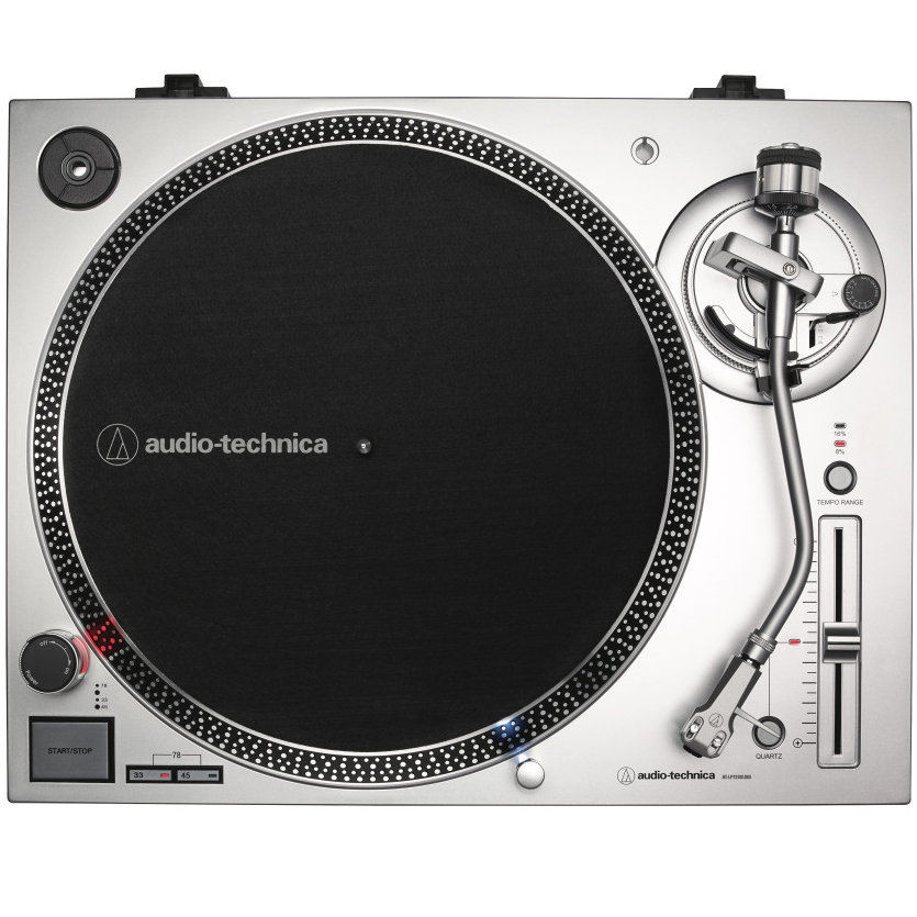View larger image of Audio-Technica AT-LP120XUSB Direct Drive Turntable - Silver