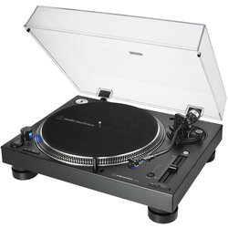 Audio-Technica AT-LP140XP Direct Drive Professional DJ Turntable - Black