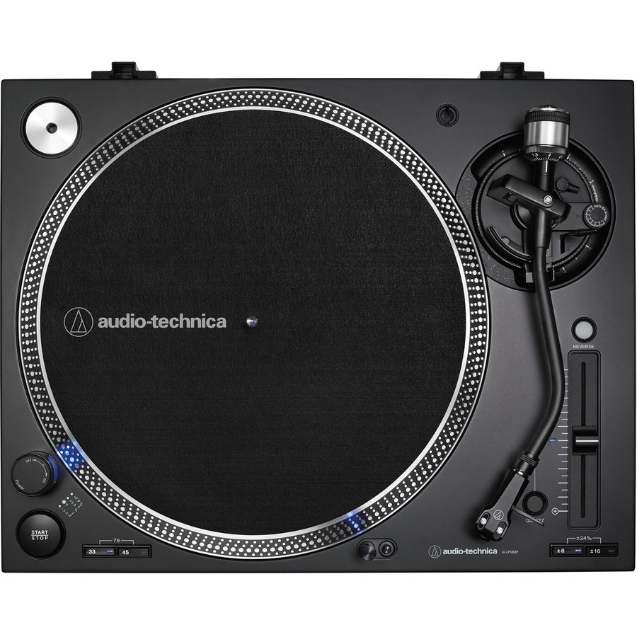 View larger image of Audio-Technica AT-LP140XP Direct Drive Professional DJ Turntable - Black