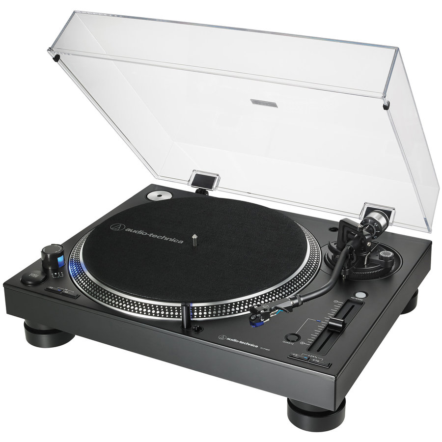 View larger image of Audio-Technica AT-LP140XP Direct Drive Professional DJ Turntable - Silver